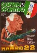 GUERIN SPORTIVO 1986 n.18  MAXIPOSTER JUVENTUS 1985/86 e poster NAPOLI