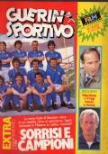 GUERIN SPORTIVO 1986 n.19 pagine centrali poster Fiorentina