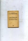 CARATTERISTICHE TECNICHE DELLE AUTOVETTURE ESPOSTE-42 SALONE DI TORINO-1960-