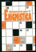 Dizionario per l'enigmistica
