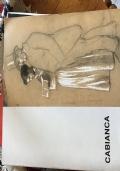 Cabianca disegni dallo studio dell'artista