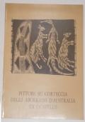 PITTURE SU CORTECCIA DEGLI ABORIGENI D'AUSTRALIA