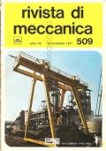 Rivista di Meccanica n. 509 (Anno XXII – 16 Novembre 1971) Il titanio e le sue leghe, Ricalcatura stampaggio teste delle viti, Calcolo molle in resine poliacetaliche, Corrosione, Industria Cecoslovacca