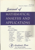 Journal of mathematical analysis and applications. Volume 65 (1978)
