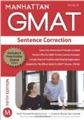 MANHATTAN GMAT  Stentence correction