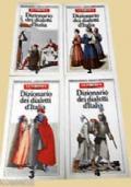 DIZIONARIO DEI DIALETTI D'ITALIA 4 VOLUMETTI