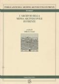 (G. Aranci) L'archivio della mensa arcivescovile di Firenze 1996   Pagnini