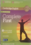 Cambride English Complete First Student's Book without answers