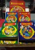 Piccole Fiabe - Il libro del giungla - Pollicino - Bambi - Peter Pan