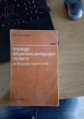 Antologia del pensiero pedagogico moderno