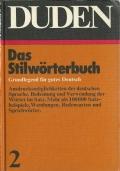 Duden, das Stilwörterbuch (Dizionario della lingua tedesca)