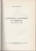 L'industria cotoniera in Piemonte nel secolo XIX.