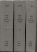 Storia dell'architettura in Italia dal secolo IV al XVIII. Volume I. [Volume II].[Volume III].