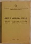 CODICE DI AVVIAMENTO POSTALE 1967