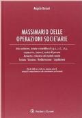 MASSIMARIO DELLE OPERAZIONI SOCIETARIE