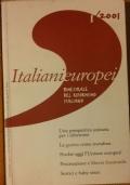 Italianieuropei bimestrale del riformismo italiano 1/2001