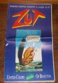 RIVISTA ZUT SATIRICA A FUMETTI N.17 AGOSTO 1987