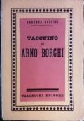 Taccuino di Arno Borghi