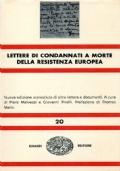 Lettere di condannati a morte della Resistenza europea