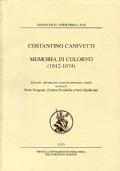 MEMORIA DI COLORNO (1612-1674) di Costantino Canivetti