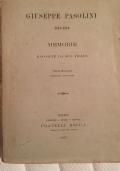 GIUSEPPE PASOLINI 1815-1876. MEMORIE RACCOLTE DA SUO FIGLIO