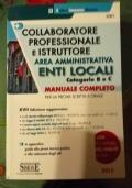 Collaboratore professionale e istruttore area amministrativa enti locali B e C