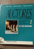 AUCTORES voci e modelli. Antologia Latina per la terza classe del liceo scientifico. Vol 1