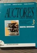 AUCTORES voci e modelli. Antologia Latina per la quinta classe del liceo scientifico. Vol 3