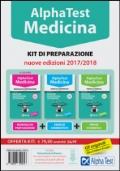 Alpha Test. Medicina, odontoiatria, veterinaria. Kit di preparazione. Con software di simulazione