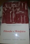 FILOSOFIA E METAFISICA VOLUME 1