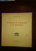problemi di pedagogia e di didattica  studio editoriale Bologna 1953