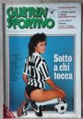 GUERIN SPORTIVO 1981 n. 37 poster Bergomi