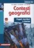 Contesti geografici.Popoli territori e risorse. Edizione blu + eBook