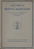 Discorsi di Benito Mussolini sulla politica italiana nel primo decennio