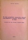 LE CARTE GEOGRAFICHE MANOSCRITTE ESISTENTI NELLA BIBLIOTECA COMUNALE AURELIO SAFFI DI FORLI'. CONTRIBUTO ALLA STORIA DELL'ANTICA CARTOGRAFIA ITALIANA