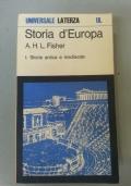 Storia d'Europa 1: Storia antica e medievale