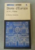 Storia d'Europa 2: Storia moderna