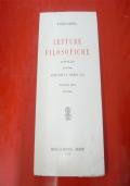 LETTURE FILOSOFICHE. VOLUME PRIMO: ANTICHITà E MEDIO EVO.