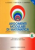 Argomenti modulari di matematica - E