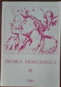 Ricerca musicologica III