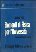 Elementi di Fisica per l'Università, Volume I Meccanica (Fundamental University Physics, Mechanics)