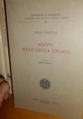 Scritti sulla lingua italiana