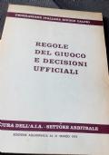 Regole Del Giuoco E Decisioni Ufficiali
