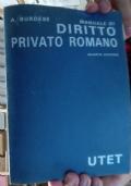 DIRITTO PRIVATO ROMANO 4Ed