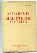 ACCADEMIE E BIBLIOTECHE D ITALIA