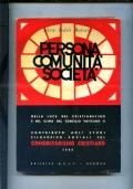 PERSONA COMUNITA SOCIETA