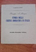 STORIA DELLA CRITICA ROMANTICA IN ITALIA