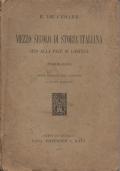 Mezzo secolo di storia italiana sino alla pace di Losanna (sommario)
