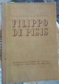 FILIPPO DE PISIS monografie d'arte di stile