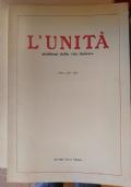 L'Unità - Problemi della vita italiana (8 volumi)